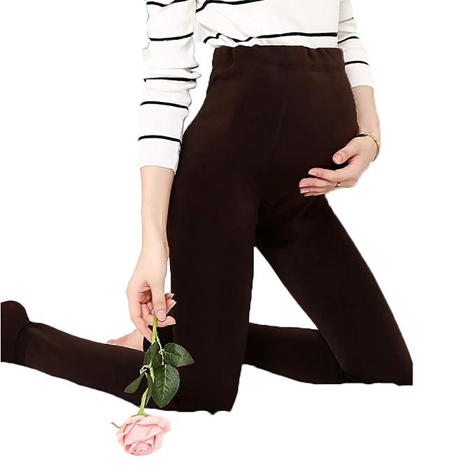 e73387015 Pearl Velvet Maternity Legging Plus Leggings de Engrosamiento Estómago de  Gran tamaño Elevación Embarazada Leggings cálidos  Amazon.es  Ropa y  accesorios