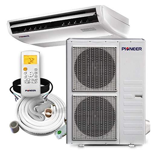 PIONEER Air Conditioner Inverter++ Split Heat Pump, 48,000 BTU, 208-230 V, White