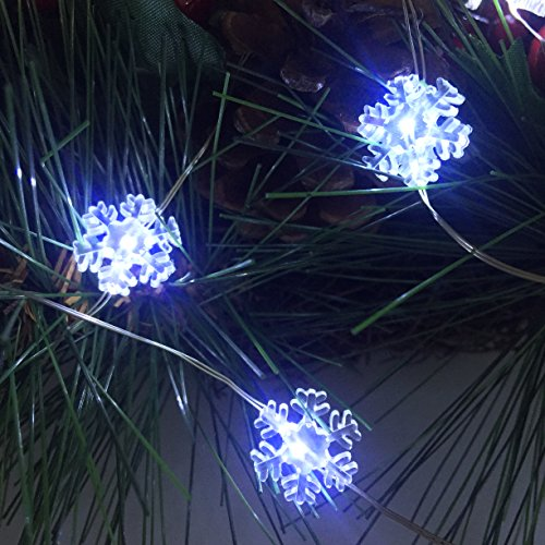 Led Snowflake Light String in US - 2