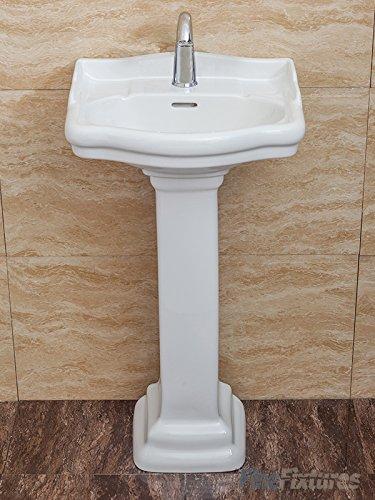 Lovely Fine Fixtures Roosevelt Biscuit Pedestal Sink 18