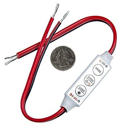 Consumer Electronics Video Games Mini 3 Keys Dimmer Controller 12v Dc For Single Color Led Brightness For Single Color 5050 3528 5630 Led Light Strip