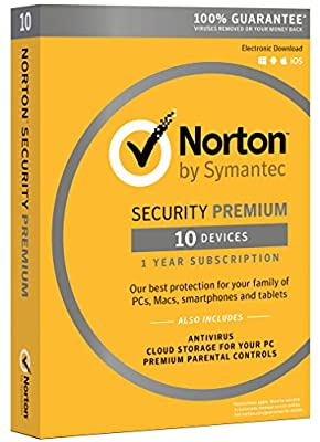 Norton Security Premium - 10 Devices from Symantec