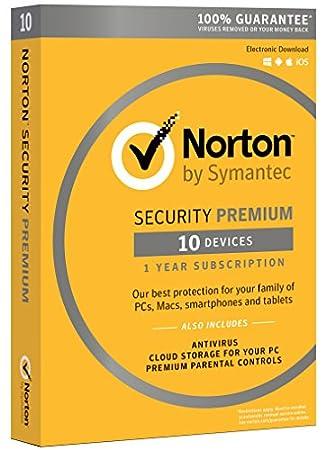 Norton Security Premium - 10 Devices [Download Code]