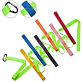 Walking Rope,12 Colorful Daycare Rope with Handles Children Walking Ropes with Buckle for Preschool Children Toddlers Daycare Schools Teachers, 12 Feet Long【Fluorescent Green】