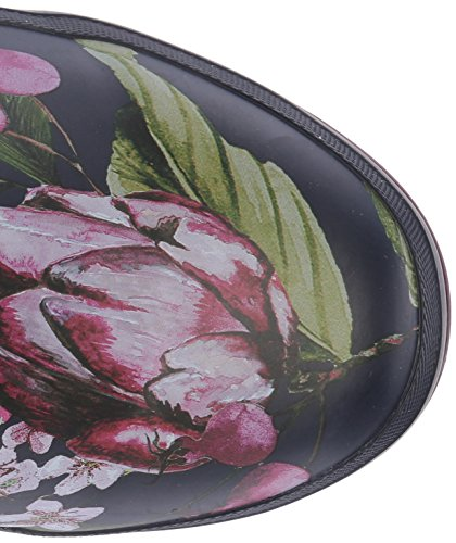 Wellyprint Navy Rain Boot Artichoke Floral French Women's Joules W5XqEBXT