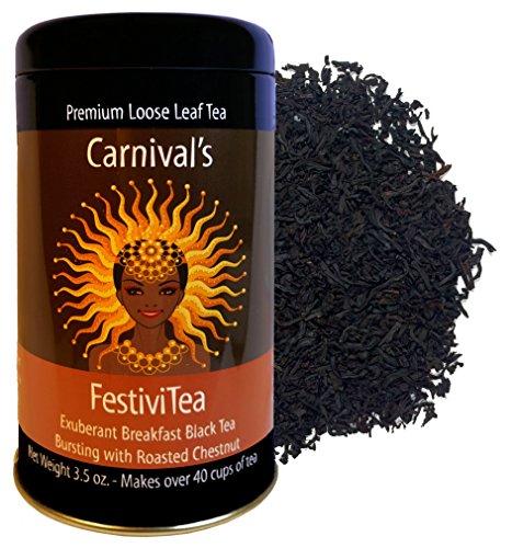 Carnival FestiviTea (Chestnut Black) - Chestnut Leaf
