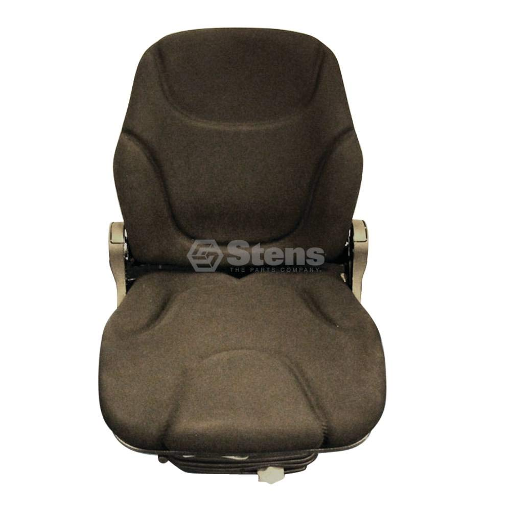 Stens Seat for Suspension, black cloth, adjustable