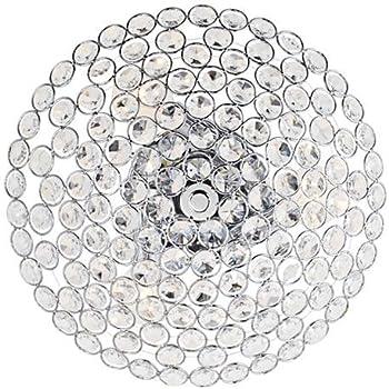 Possini Euro Design Geneva 12 Quot Wide Crystal Ceiling Light