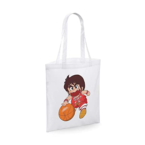 Bubbleshirt shopping bag in cotone anime cult anni 80 gigi la
