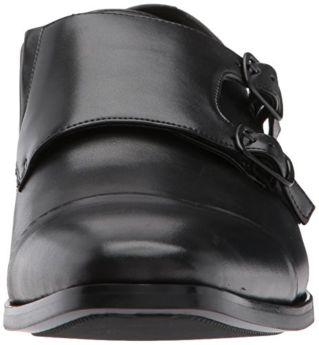 Kenneth Cole Mens Design 20484 Monk-strap Mocassino Nero