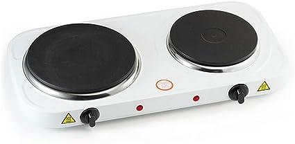 Cocina Hornillo eléctrico doble We Houseware BN3650 portátil