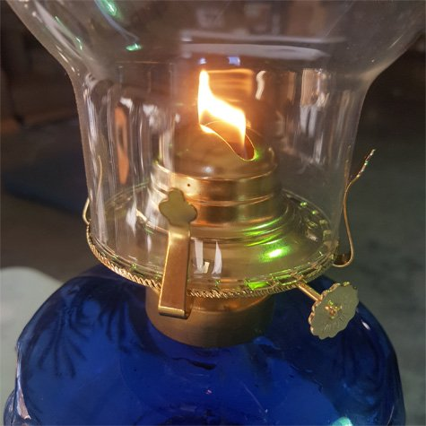 Antique Brass Glo Brite by 21st Century L27PA Mason Jar Oil Lamp Burner Discontinued by Manufacturer