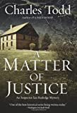 A Matter of Justice, Charles Todd, 0061233595