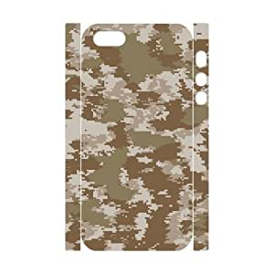 ALICASE Diy Customized Case Camouflage 3D Case for iPhone 5,5S [Pattern-1]