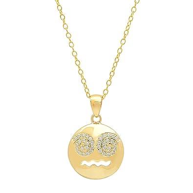 Amazon pendant necklace pendant necklaceflashedon an 18 mozeypictures Choice Image