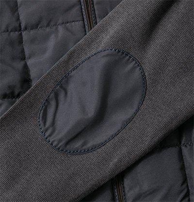 bugatti Herren Jacke Jack Baumwolle modisches Langarmoberteil Meliert, Größe: XL, Farbe: Grau