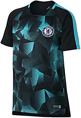 separation shoes d0423 9730b Nike Chelsea FC Youth Dry Squad Top [Black]