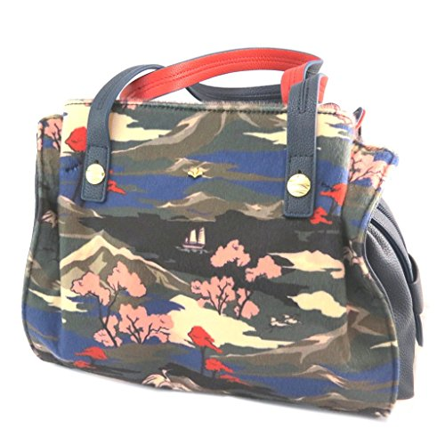 Tasche kreativ Nicanavy multicolor - 28.5x24x10 cm.