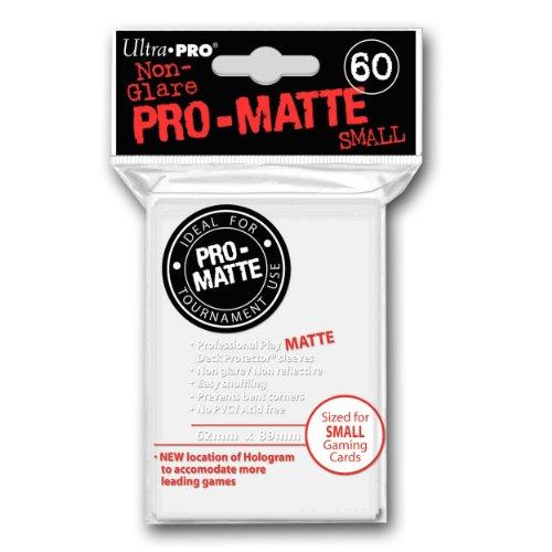 ultra-pro-60ct-pro-matte-white-small-deck-protectors