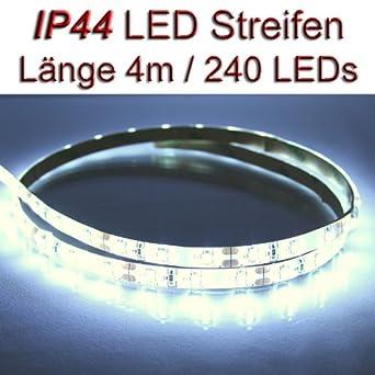 LED Streifen Strip wasserdicht IP44 BLAU mit 3528SMD LEDs