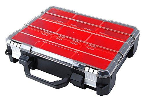 Long Aluminum Inner Side Box - Tactix 320060 9 Tub Heavy Duty Parts Organizer