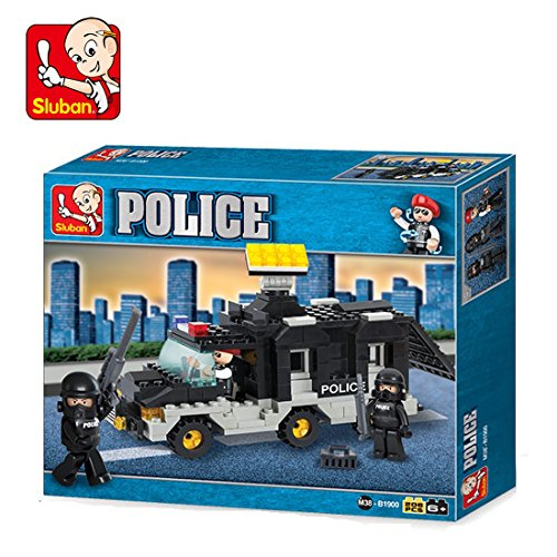 Sluban M38 B1900 Rioi Police, Multi Color  206 Pieces