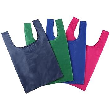 meiyday compras bolsas pack de 4, bolsas de regalo, plegable ...