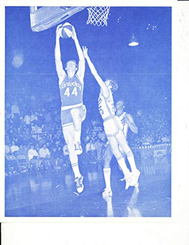 1972 Kentucky Colonels Basketball Schedule Dan Issel 8x10 3 - Colonels Basketball