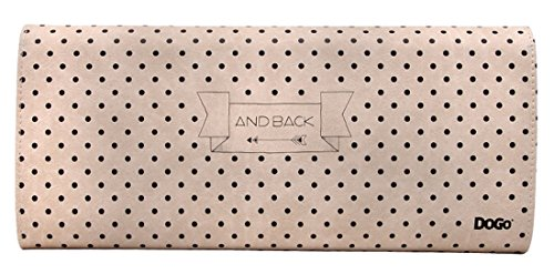 Dogo Clutch I love you to the moon Beige Vegan