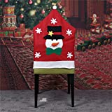 Bar Stools for Sale Near Me ASMGroup Christmas Decorations for Home Santa Claus Chair Cover Christmas Dinner Table Party Red Hat Chair Covers Reindeer Snowman