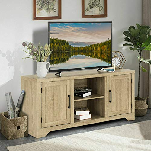 Alek...Shop Bringing Modern Style Furniture Decor Side Console TV Home Entertainment Center Cabinet Shelves Storage Sideboard Table Stand Showcase ()