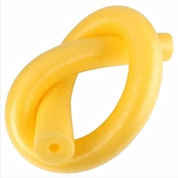 Fideo flotador VENMO, tubo de espuma gruesa con orificios para piscinas y natación, amarillo, L: Amazon.es: Deportes y aire libre