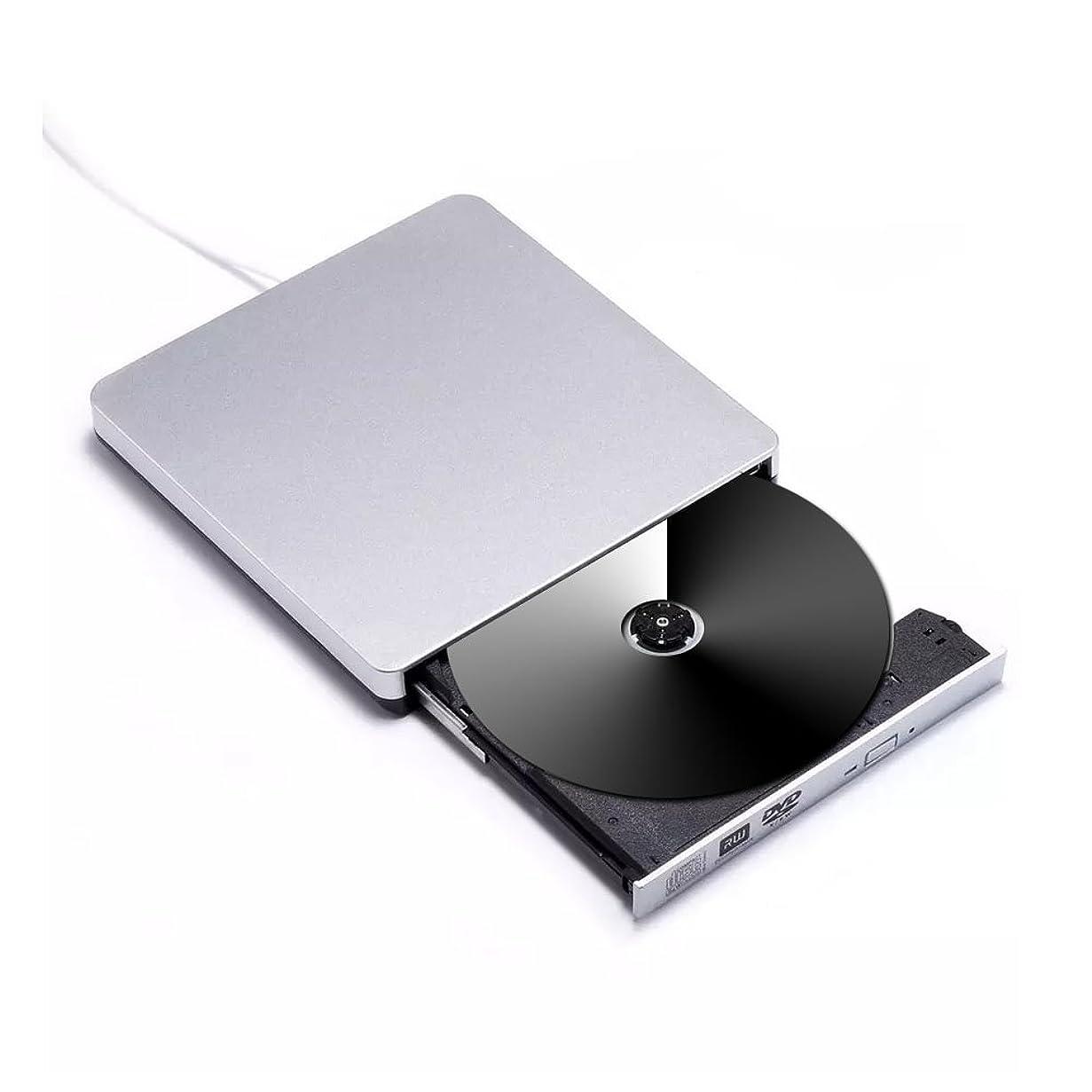 論争的奇跡的な遠洋のSTOTOY USB 3.0外付け DVD ドライブ DVD-RWドライブ DVD プレイヤー ポータブルドライブ 高速 Macbook Air Pro / Air / iMaとラップトップデスクトップに対応 Windows / Vista / 7 / 8.1 / 10,Mac OSX-ブラック