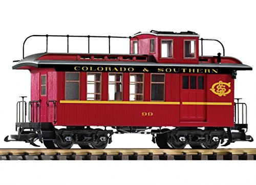 PIKO G SCALE MODEL TRAINS - C&S WOOD DROVER'S CABOOSE - - Drovers Caboose