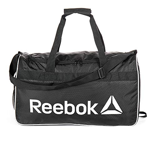 Sports Duffel, Reebok WARRIOR II Medium Duffel Bag (Black)