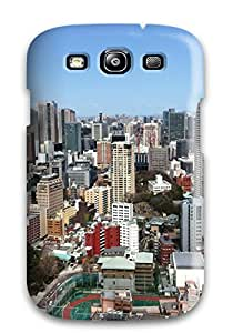 RiJBYvA3827XkBPw Tpu Case Skin Protector For Galaxy S3 Tokyo City With Nice Appearance
