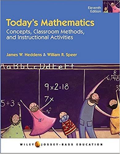 Amazon Todays Mathematics Concepts And Classroom Methods And