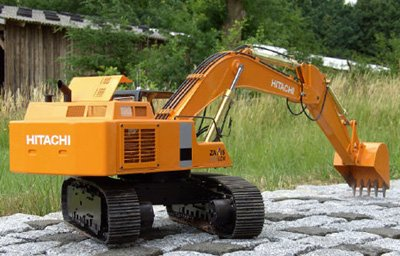 Vario Hitachi Zaxis Excavator 870 Kit - Buy Online in KSA  Toys And