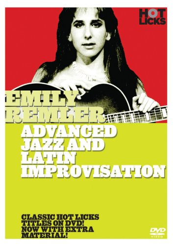 Emily Remler: Advanced Jazz & Latin Improvisation (Best Guitar Instructional Videos)