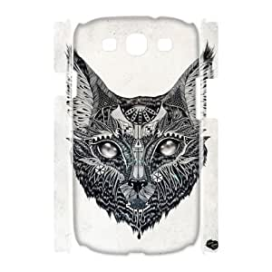 FLYBAI Sketch Animals Phone 3D Case For Samsung Galaxy S3 I9300 [Pattern-3]