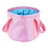 George Jimmy Foldable Wash Basin, Portable Water Fishing Bucket For Camping/Travel