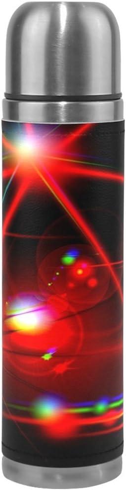 feihuang Galaxyステンレススチールleak-proof真空断熱フラスコポットスポーツ二重壁水ボトルレザーThermo Jug