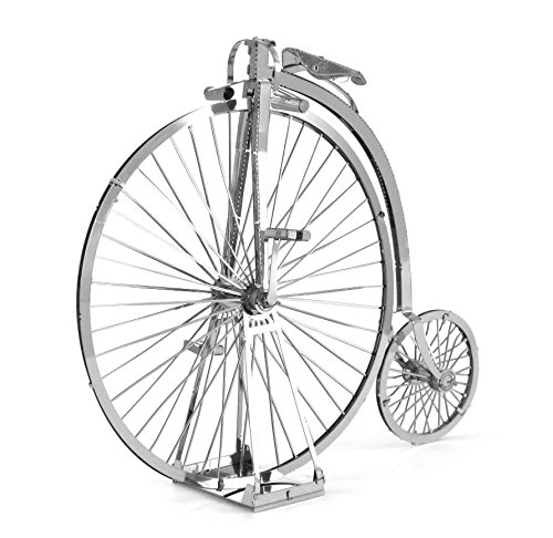 Fascinations Metal Earth Penny Farthing - High Wheel Bicycle 3D Metal Model Kit
