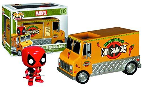 Funko Pop Rides Deadpools Chimichanga Truck Action Figure