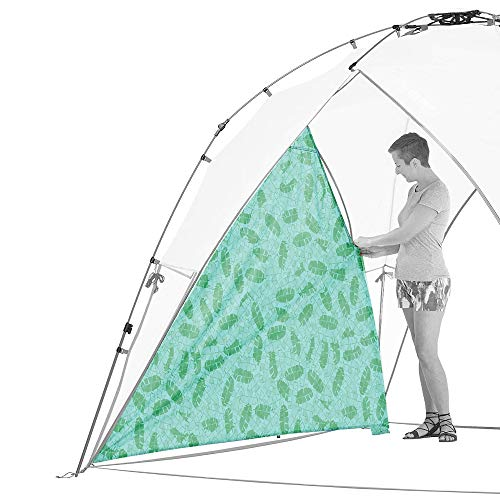 Lightspeed Outdoors Tall Canopy, Beach Shelter (Luna Leaves, Side Wall Only)