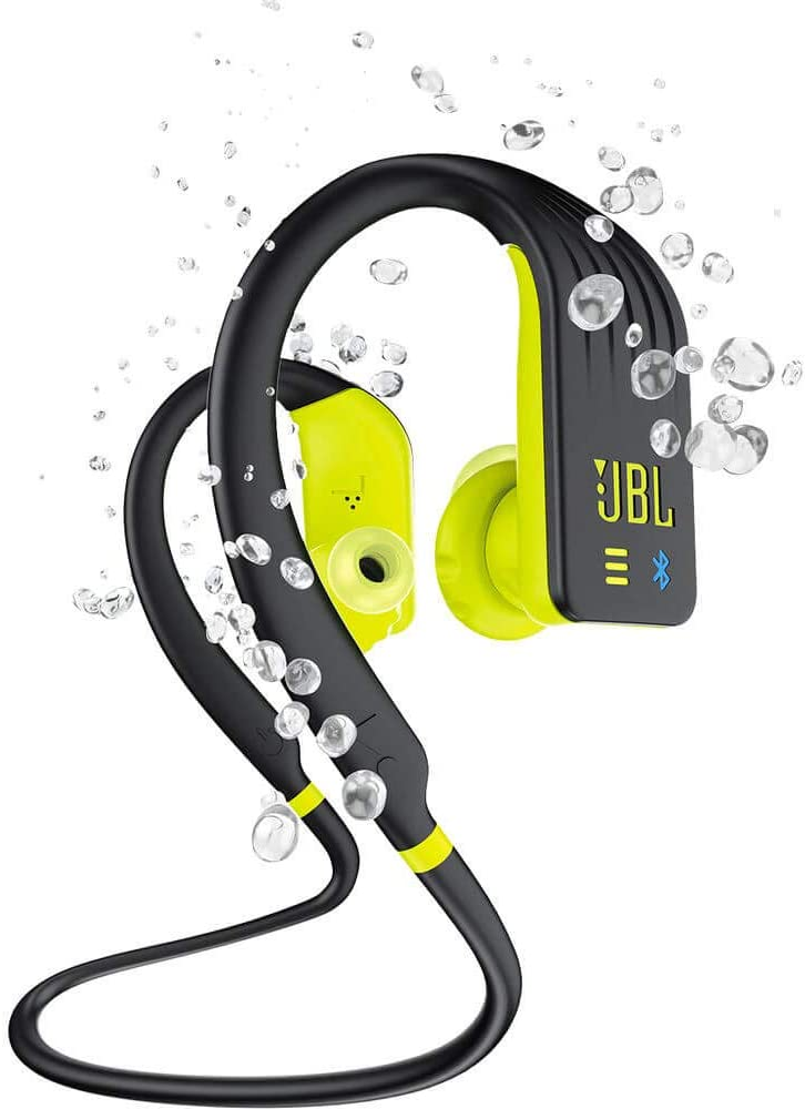 JBL Endurance Dive, Wireless MP3 in-Ear Sport Headphone with One-Button Mic/Remote - Yellow