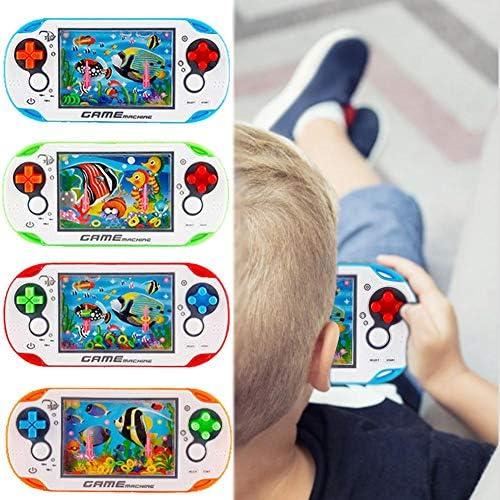 Standard Benignpoet Gioco Acquatico Acqua Anello dAcqua Macchina Infanzia Bambini Giocattoli retr/ò Giocattoli Educativi per Bambini Bambini Educazione Precoce Colore A Caso
