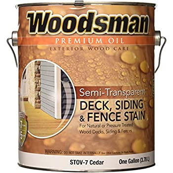 True Value Stov7 Gal Woodsman Cedar Hse Oil Oil Deck And