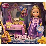 Disney Tangled Rapunzel Toddler Doll with Vanity, Baby & Kids Zone