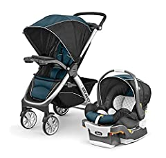 For older babies and toddlers, the Chicco Bravo Quick-Fold Stroller features a multi-position reclining backrest, five-point harness, child tray with two cup holders, and large adjustable canopy. For younger babies, the Bravo Stroller accepts...